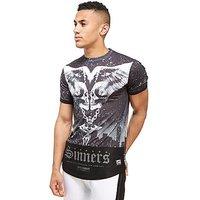 Supply & Demand Metal T-Shirt - Black - Mens