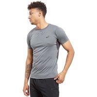 ASICS Stripe T-Shirt - Dark Grey - Mens