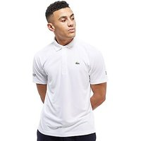 Lacoste Novac Plain Polo Shirt - White - Mens