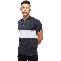 McKenzie Chimera Polo Shirt - Black/White - Mens