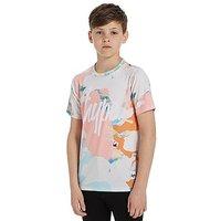 Hype Splash T-Shirt Junior - Multi Coloured - Kids
