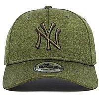 New Era 9Forty New York Yankees Baseball Cap - Space Dye Green - Mens
