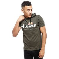 Ellesse Felenope Hooded T-Shirt - Green - Mens