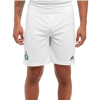 Le Coq Sportif AS Saint Etienne 2017/18 Home Shorts - White - Mens