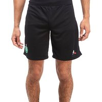 Le Coq Sportif AS Saint Etienne 2017/18 Away Shorts - Black - Mens