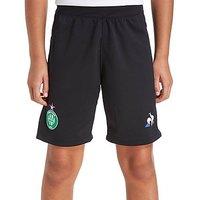 Le Coq Sportif AS Saint Etienne 207/18 Away Shorts Junior - Black - Kids