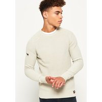 Superdry Garment Dyed LA Textured Cew Jumper