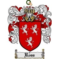 Ross Family Crest / Coat of Arms JPG or PDF Image Download