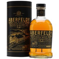 70cl / 40% / Distillery Bottling - A fruity, clean and polished malt with a touch of honey and spice, Aberfeldy 12 Year Old is an excellent introduction to this Highland distillery. Aberfeldy's main claim to fame is as the heart of the excellent Dewar's blend but whiskies like this are putting it firmly in the spotlight.