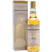 70cl / 43% / Gordon & MacPhail - Connoisseurs Choice remain the best source for affordable examples of old Ardbeg now that the prices of distillery bottlings have gone into the stratosphere.