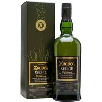 70cl / 46% / Distillery Bottling - The 2017 release for Ardbeg Day is Kelpie. A combination whiskies aged in virgin Black-Sea oak casks and bourbon barrels, this is rich and intense with notes of pepper, treacle toffee, Turkish coffee, dark chocolate and smoky bacon.