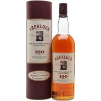 100cl / 57.1% / Distillery Bottling - A litre bottle of the now-defunct Aberlour 100 proof malt whisky, bottled at a punchy 57.1%.