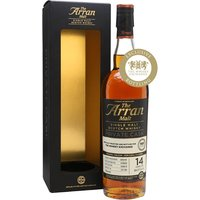 70cl / 54.3% / Distillery Bottling - One of two casks selected at a tasting by The Whisky Exchange's customers, this 2002 Arran has been aged in a single sherry hogshead for 14 years. Big and rich, with Christmas-cake spices and savoury notes of cardamom and coriander seed.
