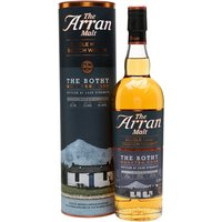 70cl / 55.2% / Distillery Bottling - The second batch of Arran's The Bothy was aged initially in first-fill bourbon barrels  before being finished for American-oak quarter casks. Bottled at natural cask strength, this limited edition is sweet and spicy with notes of tropical fruit, citrus and toast.