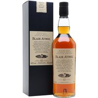 70cl / 43% / Distillery Bottling - A great, but sadly neglected, Highlander, Blair Athol is one of the gems of the Flora & Fauna range. This expression has always tended towards the chunky, sherried style, with spices and oak adding complexity to rich maltiness.