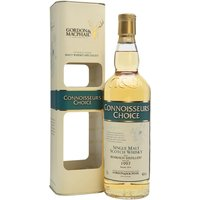 70cl / 46% / Gordon & MacPhail - A 1997 vintage Benriach from independent bottler Gordon & MacPhail as part of the Connoisseurs Choice series. Bottled in 2014 from refill hogsheads, previous releases have shown excellent balance between fruit and pepper.