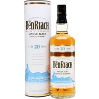 70cl / 43% / Distillery Bottling - A very drinkable, fruity 20 year old from Speyside experimenters Benriach.