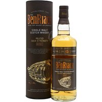 70cl / 56% / Distillery Bottling - The very first batch of Benriach's Peated Cask Strength series has been matured in a combination of oloroso-sherry and bourbon casks. Warming and toasty with notes of sweet toffee apples, nectarines, tablet and heather smoke.