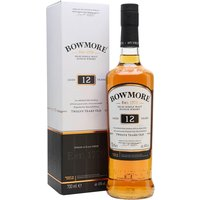 70cl / 40% / Distillery Bottling - Bowmore 12yo has a place in many hearts as Islay's 'medium-peated' malt. A pronounced iodine character with plenty of pepper, the current 12yo bottling is a welcome return to the classic Bowmores of the 1960s and '70s, with the emphasis on tropical fruit and smoke. A deserved runner-up in our Whisky of the Year 2014-15 blind tasting.