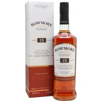 70cl / 43% / Distillery Bottling - The Bowmore Darkest has flourished since it gained a 15 year-old age statement. The sweet sherry notes take precedence over the peat here.