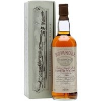75cl / 43% / Distillery Bottling - A 1969 vintage Bowmore, bottled in the 1980s by the distillery with a replica of their old style label.