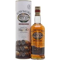 70cl / 56% / Distillery Bottling - A 1990s release of Bowmore bottled at a cask strength of 56%. This is one of the Bowmore bottlings that has gone for a screen print on the bottle rather than a traditional label.
