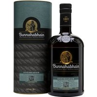 70cl / 46.3% / Distillery Bottling - Sti�ireadair is a sherried release from Bunnahabhain, intended as a partial replacement for the 12 Year Old. A typically creamy and coastal whisky with notes of caramel, nuts, dried fruit and hints of spice.