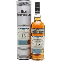 70cl / 48.4% / Douglas Laing - Aged in a sherry butt, this is a 2001 vintage Bunnahabhain from independent bottler Douglas Laing as part of the Old Particular series. Bottled at 15 years of age, this is sweet and spicy with notes of dried fruit, Christmas pudding and ginger.