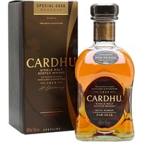 70cl / 40% / Distillery Bottling - Selected from 'very old oak casks', this new Cardhu Special Cask Reserve is richer and sweeter than the hugely popular 12 year old and has proved very successful since its release.