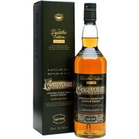 70cl / 40% / Distillery Bottling - The Cragganmore entry in Diageo's Distillers Edition series is one of the more unusual � it is finished in port pipes for extra sweetness and fruity depth. This is the 2004 vintage, bottled in 2016.
