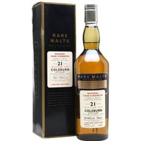 70cl / 59.4% / Distillery Bottling - The Rare Malts are a now-discontinued series of cask-strength releases designed by Diageo to showcase some of the hidden treasures in their portfolio.  This particular dram is all the more precious for having come from a distillery closed in 1985.