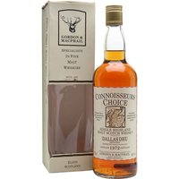 75cl / 40% / Gordon & MacPhail - An old bottling of Dallas Dhu whisky. This whisky was distilled in 1972 and bottled by Gordon & Macphail for their Connoisseurs Choice series.