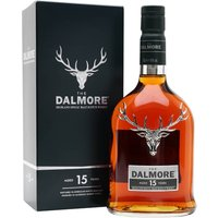 70cl / 40% / Distillery Bottling - A favourite expression in the Dalmore stable, this 15-year-old is elegant and smooth, with lipsmacking texture and the flawless balance one would expect from blending maestro Richard Paterson.