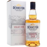 70cl / 46.3% / Distillery Bottling - A no-age-statement whisky from Deanston bottled at 46.3%. This one is made up of young whisky which is decanted into new American oak casks for its final stages of maturation.