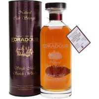 70cl / 55.2% / Distillery Bottling - Edradour's Natural Cask Strength bottlings enjoy a lofty status, This one was distilled on 28 August 2002, aged in cask 1420 and bottled on 24 March 2017, yielding 701 bottles. The purest expression of the distillery's spirit, this is full of dried fruit and spice.