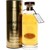 70cl / 59.8% / Distillery Bottling - A 10-year-old single bourbon cask from Edradour.  Distilled on 27 February 2006 and bottled on 22 February 2017. A beautifully presented release from the Highlands's smallest distillery.