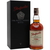 70cl / 53.8% / Distillery Bottling - This is the fifth release in Glenfarclas' Family Collector series. Distilled in 1986 and aged refill-sherry butts for around 30 years, this is a lighter style of sherried Glenfarclas.