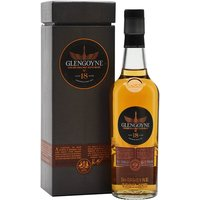20cl / 43% / Distillery Bottling - A 20cl bottle of 18 year old Glengoyne.  The distillery claims to have the slowest distillation in Scotland.  This bottling has notes of vanilla and apples with a luxurious richness due in part to its high proportion of first-fill sherry casks.