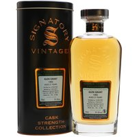 70cl / 51.6% / Signatory - A 1995 vintage Glen Grant bottled at 21 years of age by Signatory. Distilled on 31 May, matured in a pair of bourbon barrels and bottled at cask strength on 13 January 2017, part of a batch of only 386.