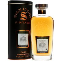 70cl / 52.5% / Signatory - A 1995 vintage Glen Grant bottled at 21 years of age by Signatory. Distilled on 31 May, matured in a pair of bourbon barrels and bottled at cask strength on 18 April 2017, part of a batch of only 384.
