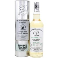 70cl / 46% / Signatory - A 1997 vintage Glen Keith from independent bottler Signatory as part of the Un-Chillfiltered Collection.  Distilled on 26 May, it was matured in a pair of hogsheads for 19 years before being bottled on 11 May 2017. The distillery's whiskies display a fruity and spicy character.