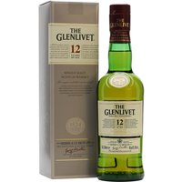 35cl / 40% / Distillery Bottling - A half bottle of one of the best-selling single malts in the world.  Glenlivet 12 Year Old shows excellent balance between fruity and floral flavours.