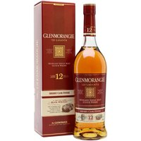 70cl / 43% / Distillery Bottling - Glenmorangie Lasanta now boasts an age statement of 12 years old.  Lasanta is a finished in both oloroso and Pedro Ximenez sherry casks and is said to mean 'warmth and passion' in Gaelic.