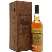 75cl / 43% / Distillery Bottling - An old presentation of Glenmorangie's 25 year old � the oldest and rarest expression in the core range.  An exquisite whisky that's loved the world over.