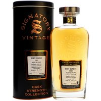 70cl / 58.5% / Signatory - This is a 25-year-old whisky from the now-closed Port Dundas distillery. Produced on 14 March 1991 and aged in a single hogshead, this is a classically light and sweet grain.