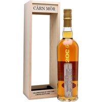 70cl / 65.5% / Carn Mor - A high-strength Glenrothes from Carn Mor. Distilled in 2006, this was aged in a sherry butt for 11 years before 610 bottles were yielded at a punchy 65.5%. This has notes of cinnamon, red fruit and wood spice.