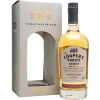 70cl / 46% / Cooper's Choice - This Cooper's Choice bottling of Glentauchers was distilled in June 2009 and aged in a first-fill bourbon barrel for seven years. This has classic notes of vanilla and coconut with a hint of spice.