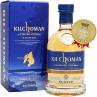 70cl / 46% / Distillery Bottling - The 2017 bottling is the sixth release of Kilchoman's ongoing Machir Bay. It's a vatting of whisky matured in first-fill bourbon casks for around six years, married and then finished in oloroso sherry butts before bottling.