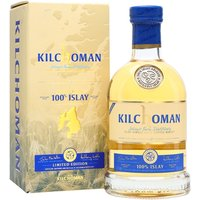 70cl / 50% / Distillery Bottling - Kilchoman's 100% Islay is so-called as all the production takes place on the island. The barley is grown on the estate farm and malted on-site, and bottling also takes place at the distillery. The sixth edition, distilled in 2010 and bottled in 2016 is a mixture of first-fill and refill bourbon barrels. Lightly peated, fresh and light with citrus notes.