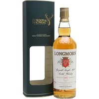 70cl / 43% / Gordon & MacPhail - A 2002 vintage Longmorn from independent bottler Gordon & MacPhail. This was aged just into its teenage years before being released in 2016, and displays notes of citrus fruit, apples and raisins.